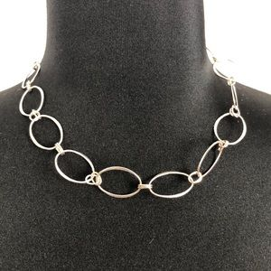 Jewelry - Silver Stamped 925 Necklace